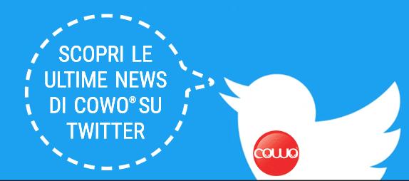 scopri le ultime news di cowo su twitter